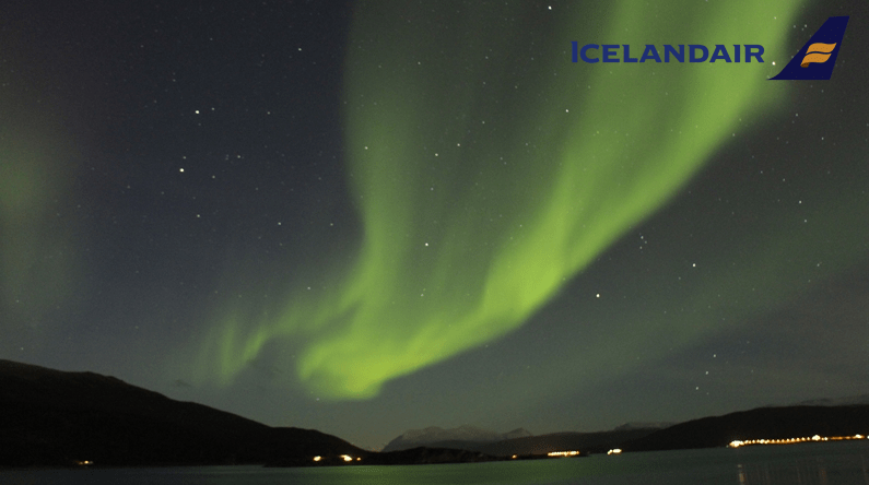 Iceland Air, Northern Lights Experiential Event